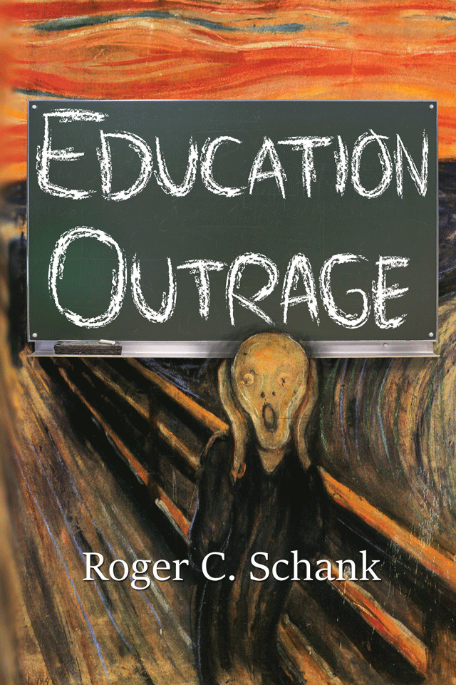 Book cover Education Outrage